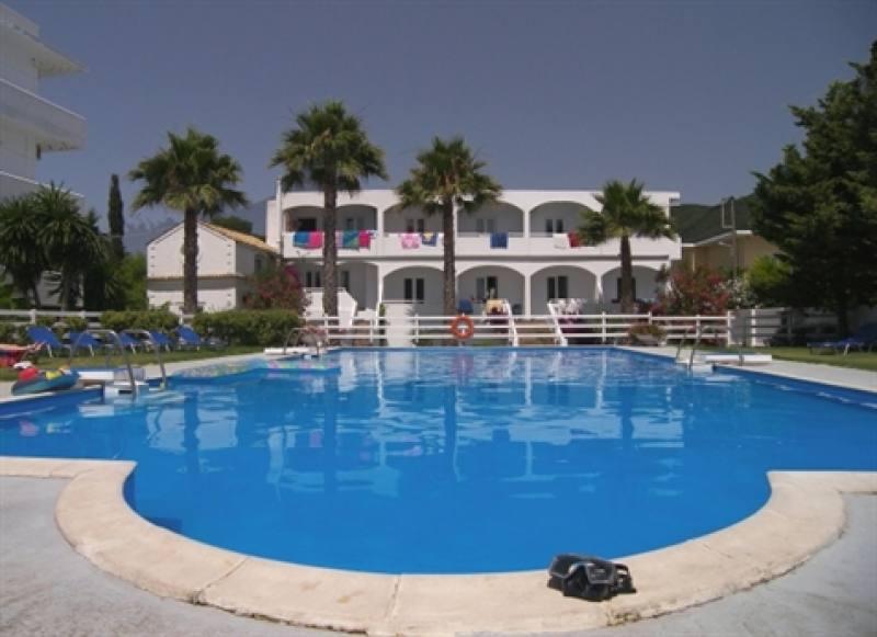 Appartementen Sunrise - Ypsos - Corfu
